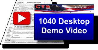 video 1040 desktop demo CTS