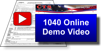 video 1040 online demo CTS